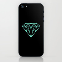Tiffany Diamond iPhone & iPod Skin by Rex Lambo | Society6