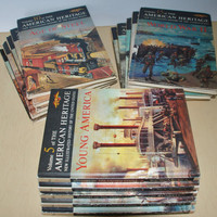 Vintage American Heritage New Illustrated History of the United States 1963 15 Books