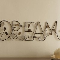 Dream Hanging Metal Wall Decor By Collections Etc