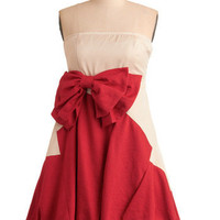 Dazzling Dinner Party Dress in Red | Mod Retro Vintage Dresses | ModCloth.com