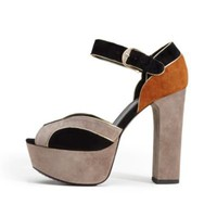 Babette Colorblock Platform