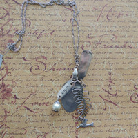 Wish Silver Pendant Necklace