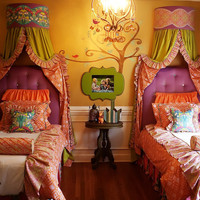 Gorgeous Ava Ruffled Full/Queen Duvet Cover by AddisonsWonderland