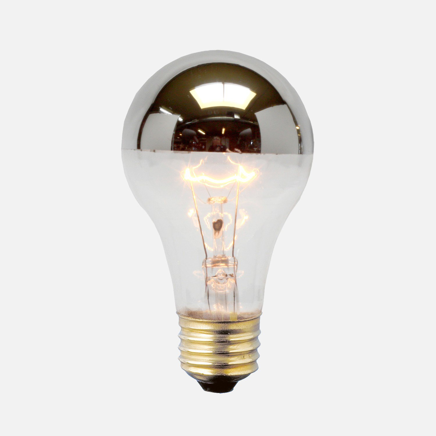 a19 silver tip bulb 60 watt silver and from schoolhouse epic. Black Bedroom Furniture Sets. Home Design Ideas