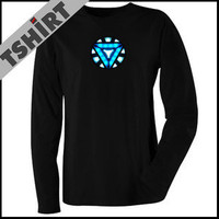 Iron Man Arc Reactor T-Shirt *TRIANGLE ARC REACTOR* From the Avengers Movie
