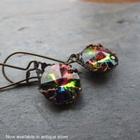 Vision of Color Earrings by debradane on Etsy