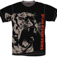 ROCKWORLDEAST - Foo Fighters, T-Shirt, Tiger