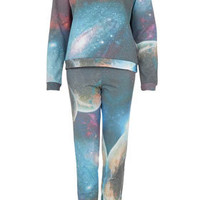 Galactic Print Nightwear Set - Lingerie &amp; Sleepwear  - Clothing  - Topshop USA