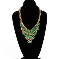 Heavy Layered Chain Necklace - 2020AVE