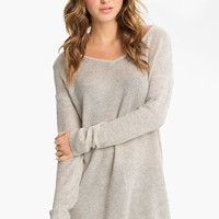 Rubbish Knit Oversized Sweater (Juniors) | Nordstrom