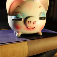 Lady Piggy Bank  1950s - 60s