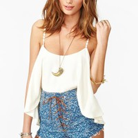 Nasty Gal x MINKPINK Jasmine Cutoff Shorts