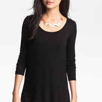 Painted Threads Lace Panel High/Low Tunic (Juniors) | Nordstrom