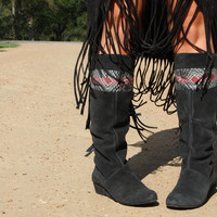sacagawea zipper boots | gypsyville