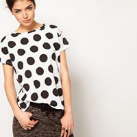 Illustrated People Spot T-Shirt at asos.com