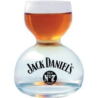 Amazon.com: Jack Daniels Whiskey On Water Glass: Kitchen & Dining