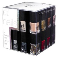 e.l.f. Nail Polish Cube - 14 pc