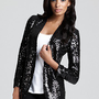 Aqua Luxe Blazer - Sequin | Bloomingdale&#x27;s
