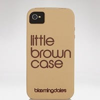 Bloomingdale's iPhone 4 Case - Little Brown Case | Bloomingdale's