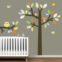 Children Vinyl Wall Decals Nursery Tree Wall by Modernwalls