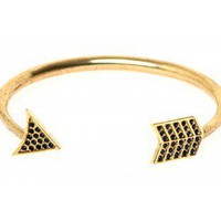 Antiqued Arrow Cuff - Cuffs - House of Harlow - Brands | Glamhouse