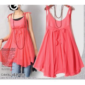 Wholesale Korean Pattern Two-use Summer Dress