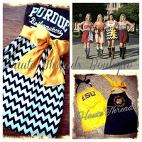 50. Gift Certificate to Haute Threads Boutique - Custom Gameday Dresses and Tee Conversions - Christmas Gift - College, NFL, Sorority & More