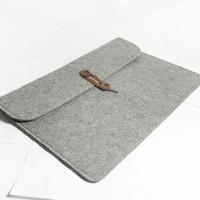 "Macbook air 13"" Macbook Sleeve Wool Felt Custom Made Felt Case Cover Bag for Macbook air 13"""