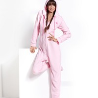 Jenni Pajamas, Ears Footed Hooded Pajamas - Womens Lingerie - Macy's