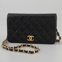 WGACA Vintage Vintage Chanel Full Flap Bag