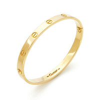Estate Fine Jewelry Cartier Gold Love Bracelet