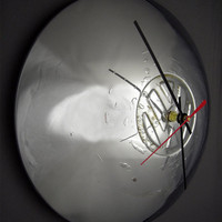 VW Hubcap Clock - Volkswagen Bus Ghia Wall Clock - VW Bus VW Ghia
