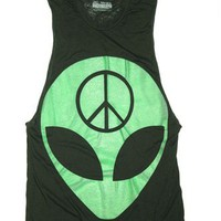 ALIEN Burnout Unisex Muscle Tee