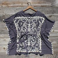 Gray Smoke Blouse, Sweet Country Inspired Clothing
