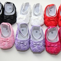 Baby Rosette Flats - 6 Adorable Colors!