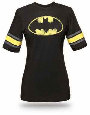 Batman Hockey Stripe Babydoll