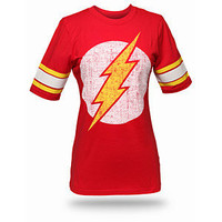 ThinkGeek :: The Flash Hockey Stripe Babydoll