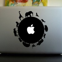 Apple Macbook Vinyl Decal Sticker - Circle of Life