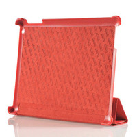 iPad2 Micro Fiber Leather Protective Stand Cover