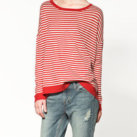 STRIPED SWEATER - Collection - Knitwear - Collection - Woman - ZARA United States