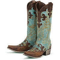 Lane Boots Women&#x27;s &#x27;Dawson&#x27; Cowboy Boots | Overstock.com