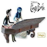 QXI2096 A Spirited Duet Tim Burton's Corpse Bride 2010 Hallmark Magic Ornament
