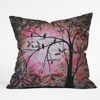 DENY Designs Home Accessories | Madart Inc. Cherry Blossoms Throw Pillow