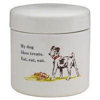 Eat, Eat! Treat Jar Organic, Eco Friendly Pet Supplies | Eco Friendly Dog & Cat Accessories