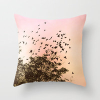 freedom Throw Pillow by Marianna Tankelevich | Society6