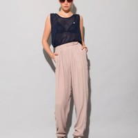 Grey berry silk trousers [Kok3721] - $299 : Pixie Market, Fashion-Super-Market