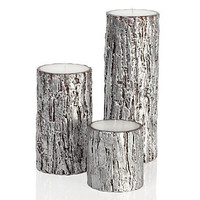 Z Gallerie - Silver Bark Candles