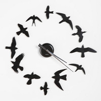 DIY Bird Wall Clock