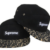 New Supreme Hats Snapback Hip-Hop Adult adjustable Baseball cap-black