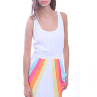 Aryn K. Over the Rainbow Dress | Solid Color Dress | Mod Dresses | MessesOfDresses.com